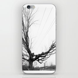 Between the lines: Nature vrs Human iPhone Skin