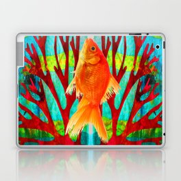 Golden Fish Laptop & iPad Skin