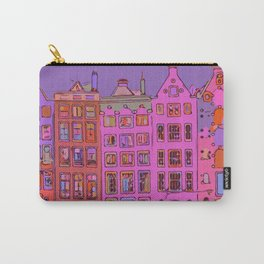 Canal houses Amsterdam the Netherlands Carry-All Pouch