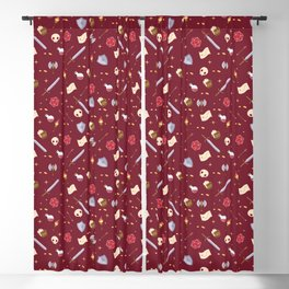 Fighter Pattern Blackout Curtain