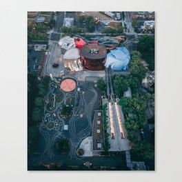 EMP / MoPop Canvas Print