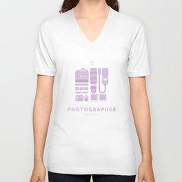 #WorkerEssentials - Photographer Unisex V-Neck