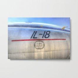 Ilyushin IL-18 Metal Print