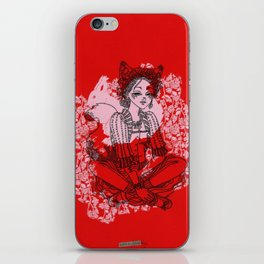 Mori Girl Autumn iPhone Skin