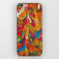 psychedelic iPhone & iPod Skins featuring Psychedelic by DuckyB