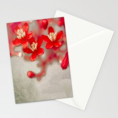 3 Words (vintage) Stationery Cards