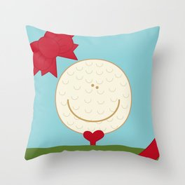 WE♥GOLF Throw Pillow
