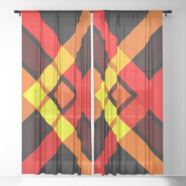 Retro X 15 Sheer Curtain
