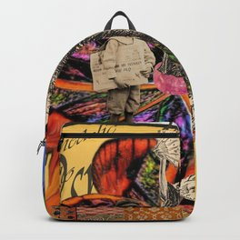 Psychedelic amarillo Backpack