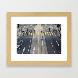 Crossings 1 Framed Art Print