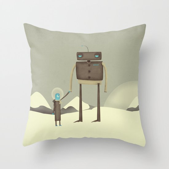 We'll Find A Home Throw Pillow