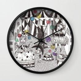 Night Carnival Wall Clock