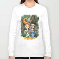 under the sea Long Sleeve T-shirts featuring Under the Sea by Anna Kavehmehr