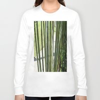 bamboo Long Sleeve T-shirts featuring BAMBOO by Manuel Estrela 113 Art Miami