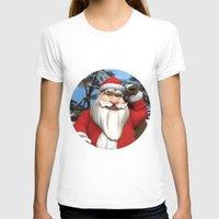 santa T-shirts featuring Santa by Design Windmill