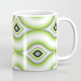 Motions, Modern Fractal Art Pattern Coffee Mug