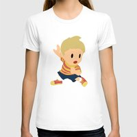 smash bros T-shirts featuring Lucas Super Smash Bros by jeice27