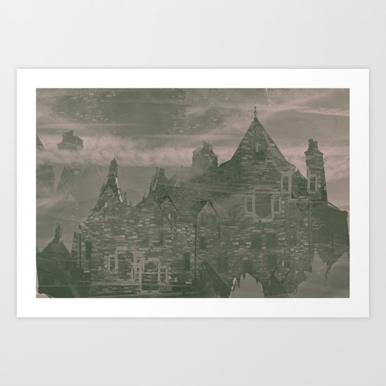 unknown sorroundings Art Print