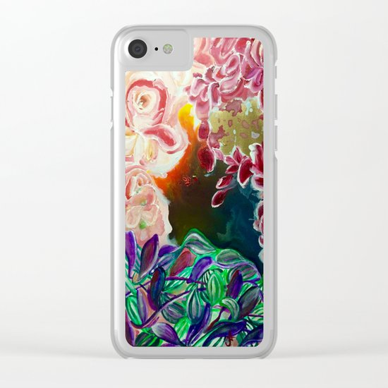 Ode To Creation Clear iPhone Case