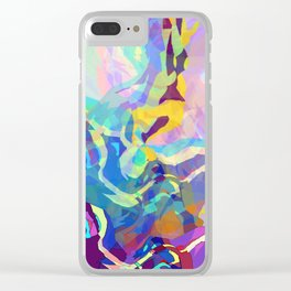 Volcanic Clear iPhone Case