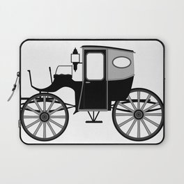 Old Style Carriage Laptop Sleeve