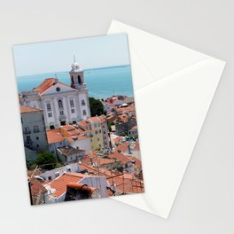 Lisbon View Stationery Cards