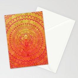 Aztec Flower Mandala Stationery Cards