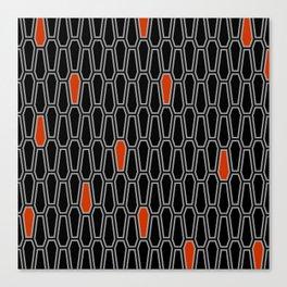 Geometric Coffins Canvas Print