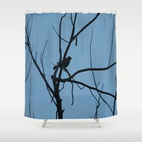 silhouette Shower Curtains featuring Silhouette by Stecker Photographie