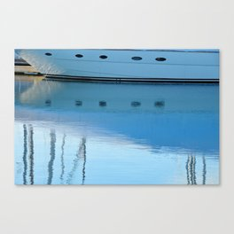 Newport Harbor Reflections Canvas Print