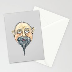 old man 2 Stationery Cards