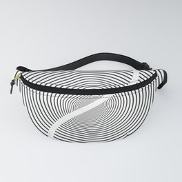 Wood section Fanny Pack