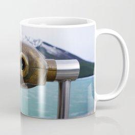 Lake Minnewanka Viewer Coffee Mug