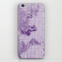 prince iPhone & iPod Skins featuring Prince by Catherine Holcombe