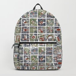 Urban fragments I of NewYork, Paris, London, Berlin, Rome and Seville Backpack