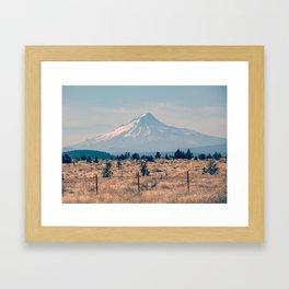 High Desert Haze Framed Art Print