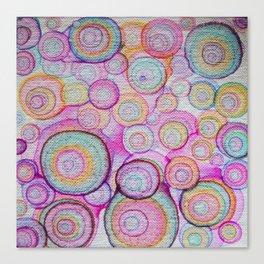 color bubbles Canvas Print
