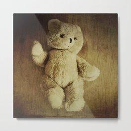 Old Teddy Bear Metal Print