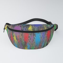 Colorful Flamethrower Fanny Pack