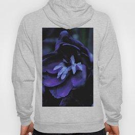 Blue flowers in the dark Hoody