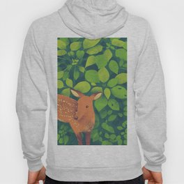 Deer in the Forest Hoody