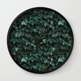 Painted Ivy Wall Clock