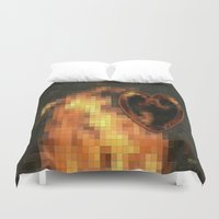 gem Duvet Covers featuring Gem by Maria Julia Bastias