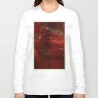 outer space Long Sleeve T-shirts featuring Outer Space by Liv Bird