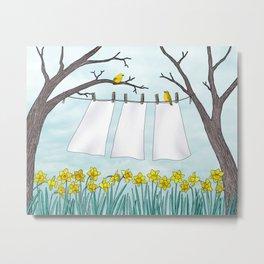 spring clean Metal Print