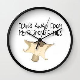 Northern flying squirrel Wall Clock