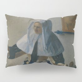 "Johannes Vermeer ""Young Woman with a Water Pitcher"" Pillow Sham"