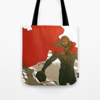 thor Tote Bags featuring Thor by Pulvis