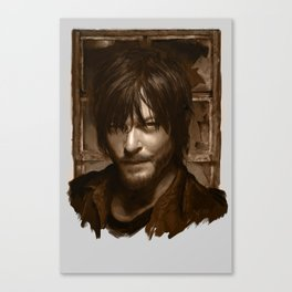 "Daryl Dixon (Norman Reedus) from ""The Walking Dead"" Canvas Print"