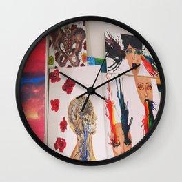 Spew Colors Wall Clock